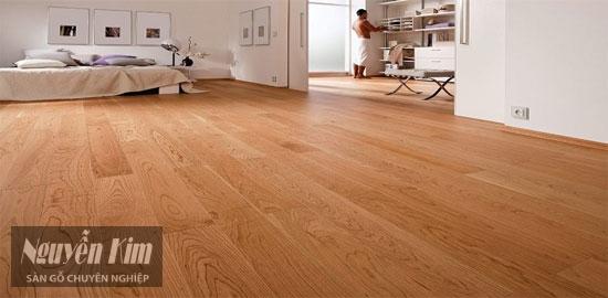 khả năng chống trầy xước của sàn gỗ newsky