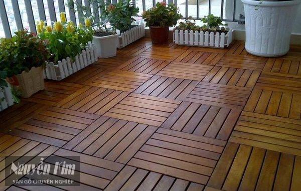 giới thiệu sàn gỗ ngoài trời