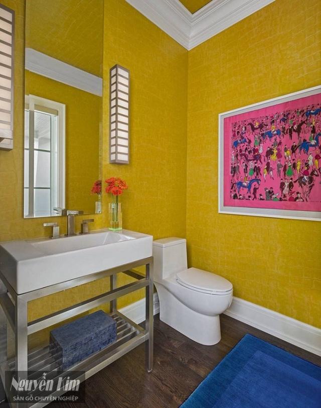 sàn nhà tắm phong cách độc đáo