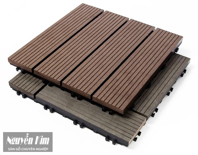 cấu tạo sàn gỗ ban công