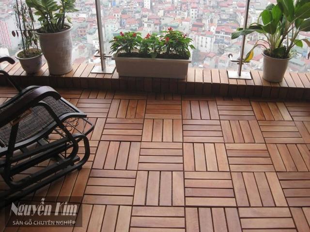 vỉ gỗ nhựa lót sàn