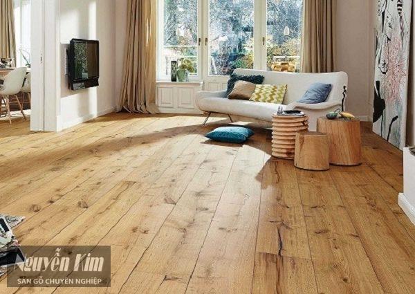 Sàn gỗ công nghiệp có những loại bề mặt nào 3