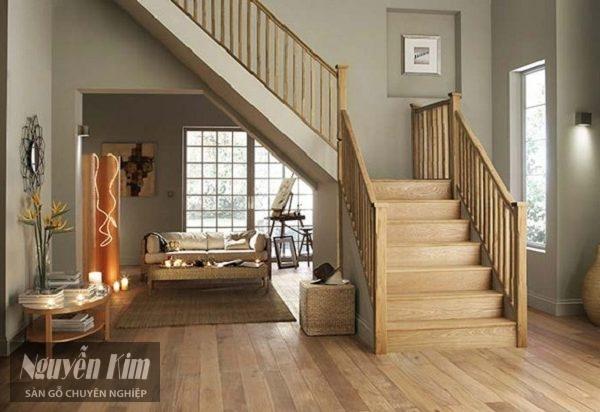 Có nên ốp cầu thang bằng gỗ công nghiệp hay không